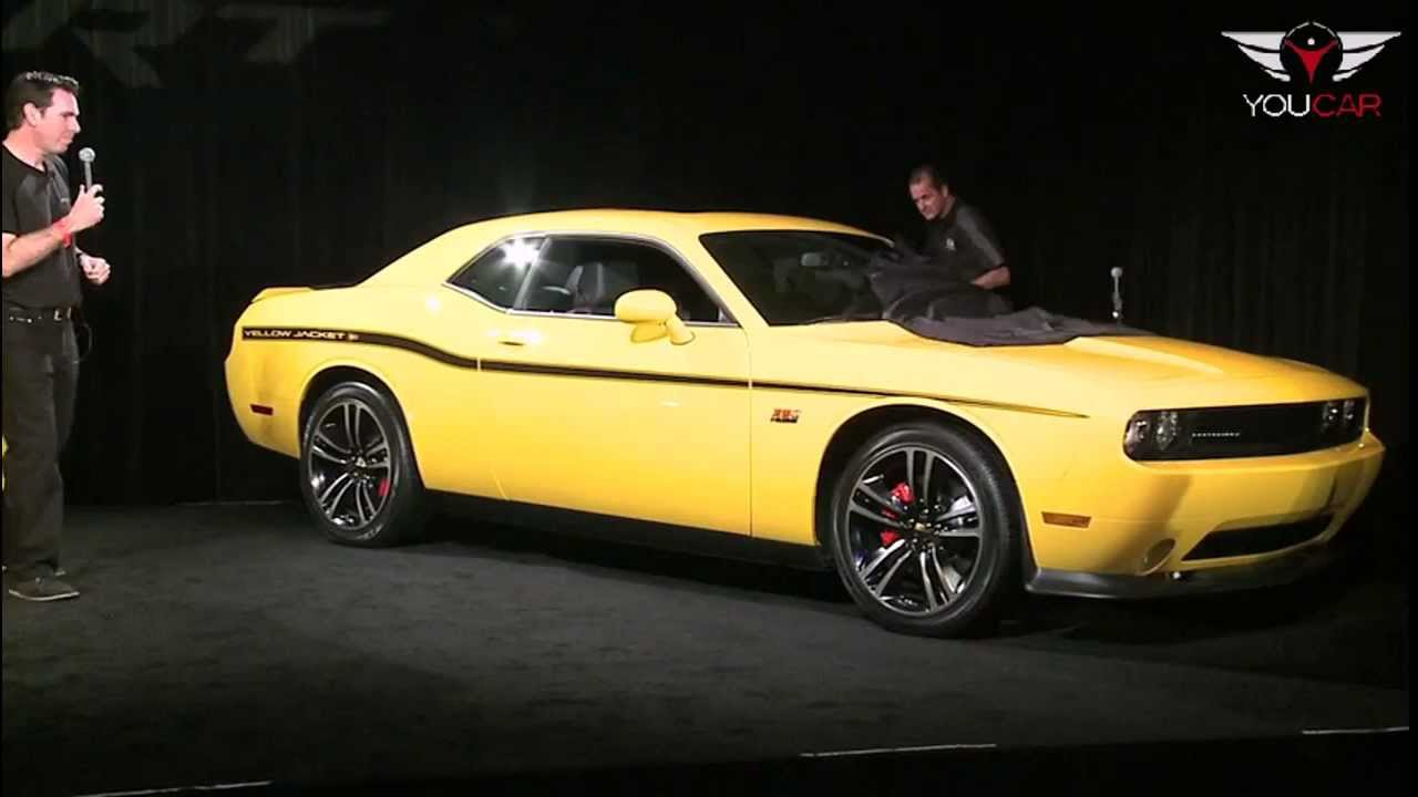 2012 Dodge Challenger Srt8 392 Yellow Jacket Youtube