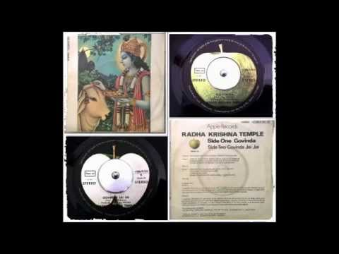 Govinda Jay Jay -The Radha Krishna Temple 1971 Apple  Records