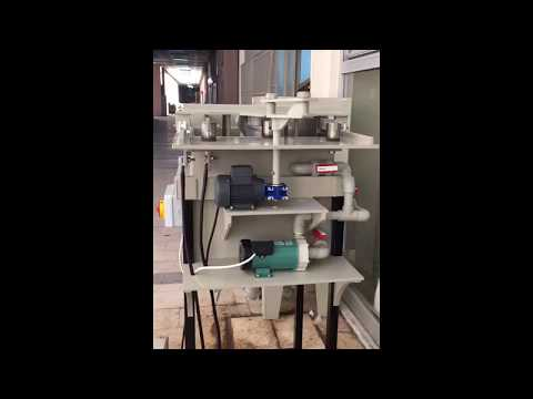 SILVER ELECTROLYSIS UNIT - Process Machine