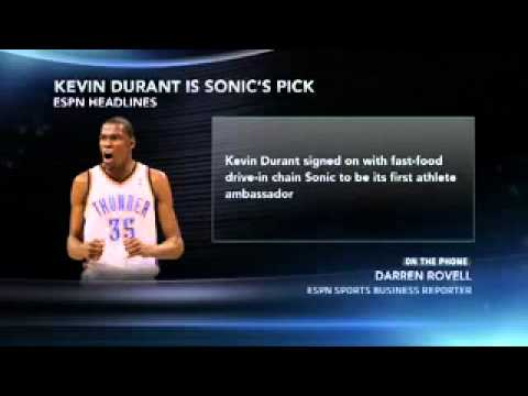 Injured Durant Inks Another Endorsement Deal