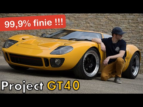Ma GT40 TERMINÉE d'assemblage ! [GT40 project #72]