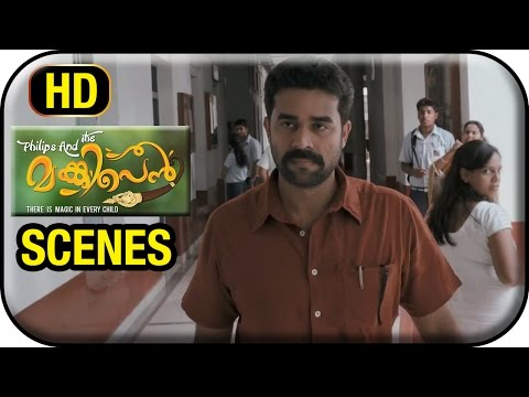 Philips and the Monkey Pen Movie | Scenes | Vijay Babu Comes Back to School