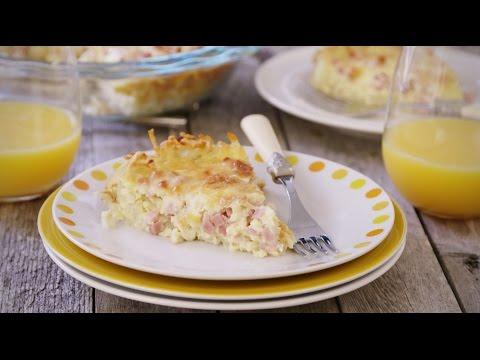 How to Make Ham and Cheese Breakfast Quiche | Ham Recipes | Allrecipes.com