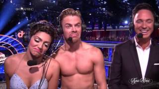 Bethany Mota & Derek Hough - DWTS All Access (Lacey & Dominic) S19 Ep 12