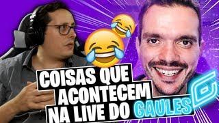 ZORLAK react COISAS QUE ACONTECEM NA LIVE DO GAULES