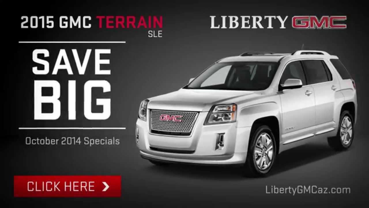 Gmc Terrain Lease >> 2015 Gmc Terrain Lease Offer Liberty Gmc Cta