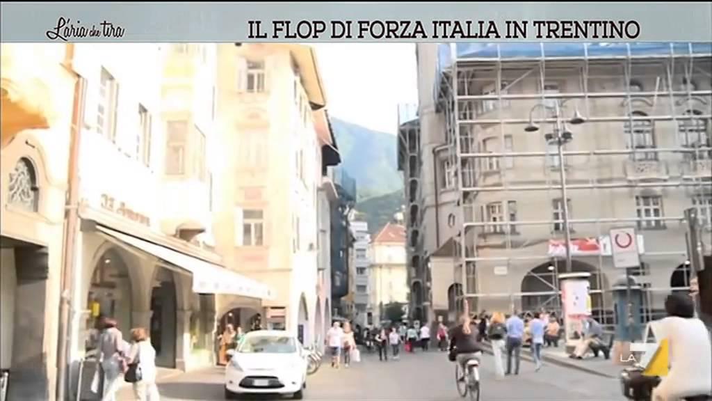 Il flop di forza italia in trentino youtube for Deputati di forza italia