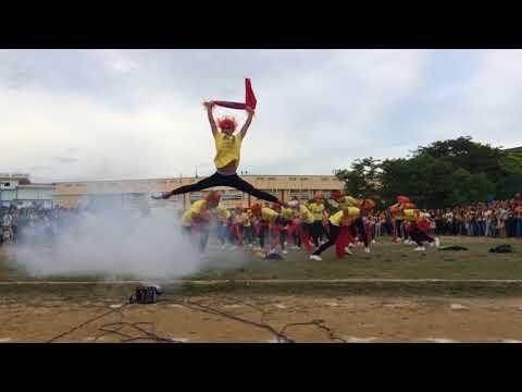 HNU CBA CREATIVE DANCE PROD CHAMPION  ( HNU BOHOL STUDENTS )