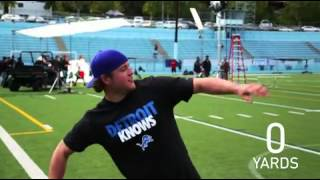 Have you ever wondered how far Detroit Lions QB Matthew Stafford could throw a banana? thumbnail