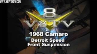 1968 Camaro Detroit Speed Front Suspension Install Video V8TV