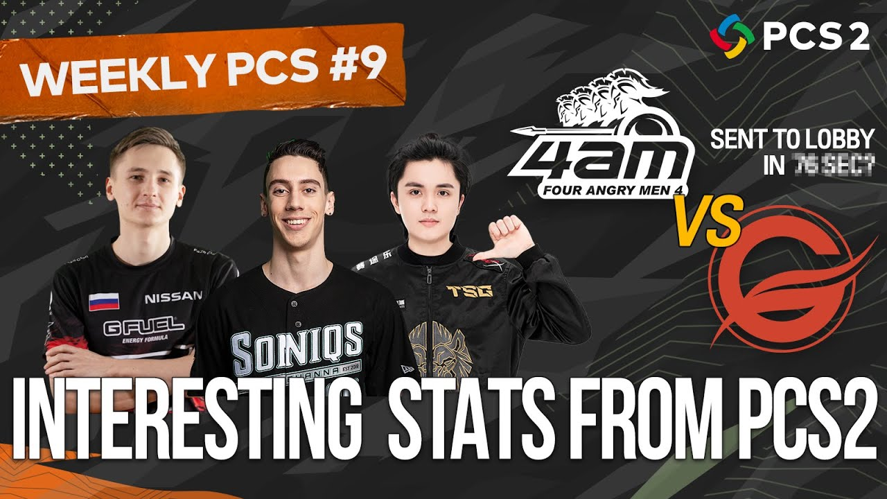 This is How the Pros Do It! 🏆 Interesting PCS2 Stats 🤔ㅣWeekly PCS #9