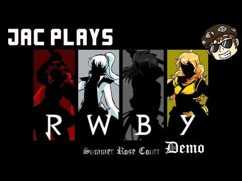 RWBY Summer Rose Court: Visual Novel Demo