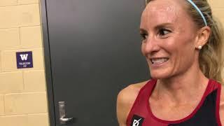 Shalane Flanagan runs 8:43 all while running 110 mile weeks
