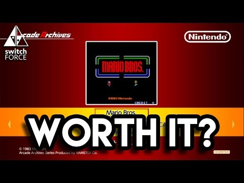 Arcade Archives Mario Bros Let's Play - Is It Worth It?
