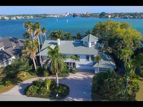 Unique Waterfront Living in Nokomis, Florida