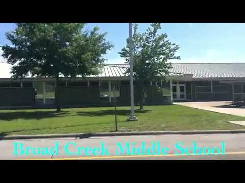 Broad Creek Middle School, Newport NC (Carteret County)