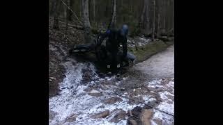 Леха не выебывайся едь по льду ) мото эндуро мотокросс snoskoles minsk x250 rider bike enduro