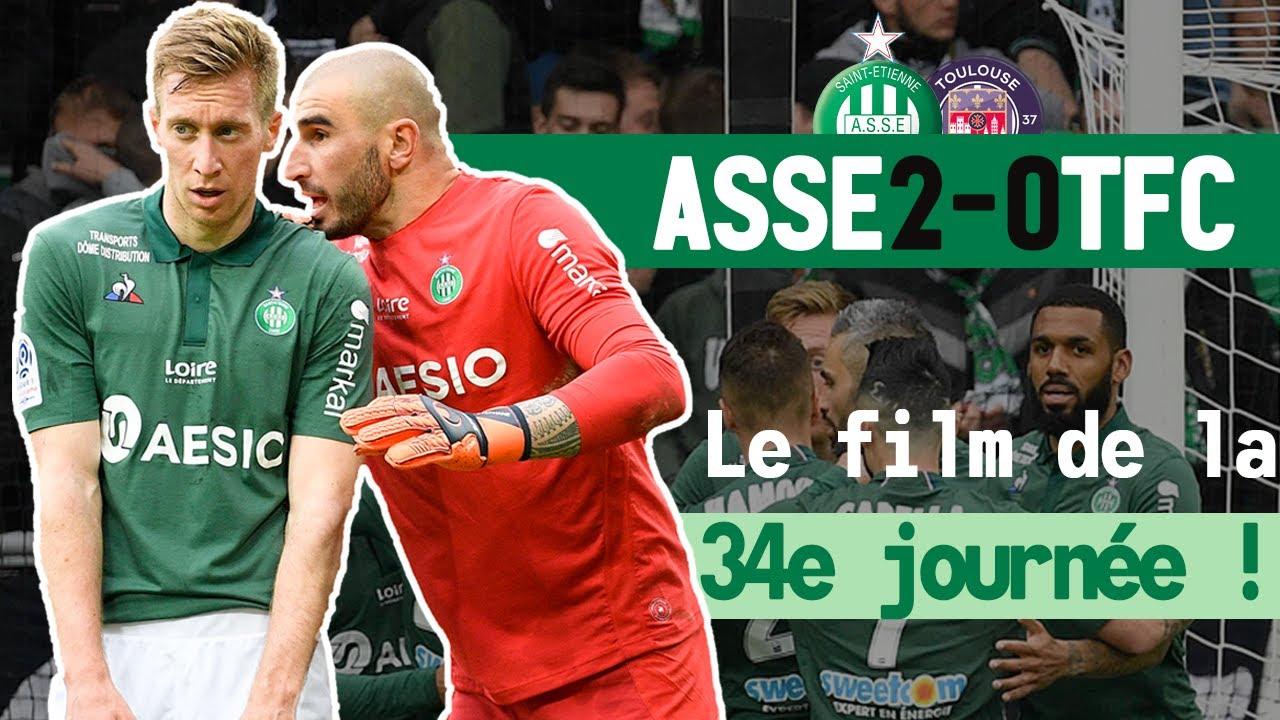 ASSE 2-0 Toulouse : le film du match