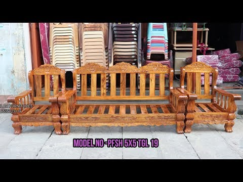 Latest Model Wooden Sofa Tiger Lock Design In Popular Furnitures 15 10 2019 Youtube
