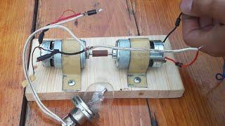Free energy motor mini generator 12 Volt