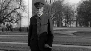Tomáš Garrigue Masaryk - 1.prezident Československa s proslovem k USA.Velmi unikátní snímek!!!