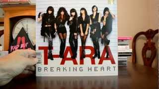 T-ara BREAKING HEART cd and oversized photobook UNBOXING video review Mp3