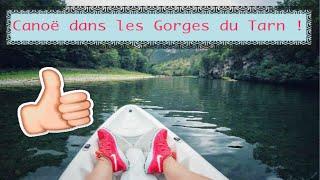 GoPro + LCD - Canoë dans les Gorges du Tarn !