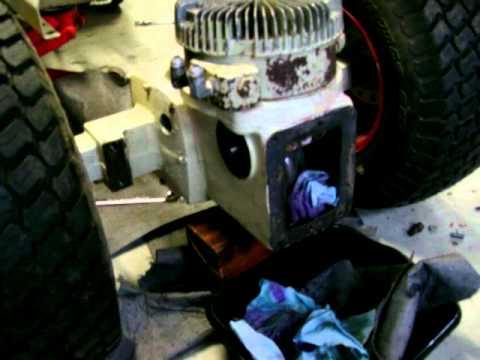 Bolens 1455 - Eaton 12 hydro repair #7