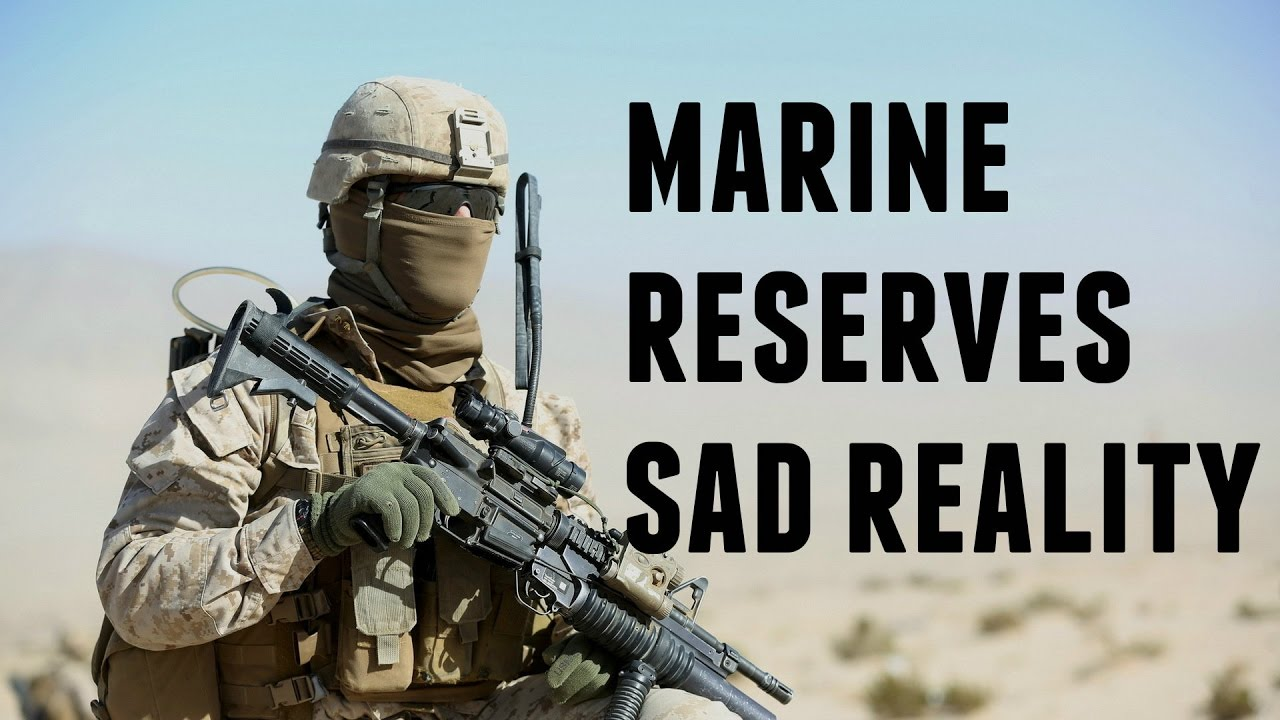 Marine Corps Reserve Life The Sad Reality Unfiltered Youtube - Usmc-counter-intel