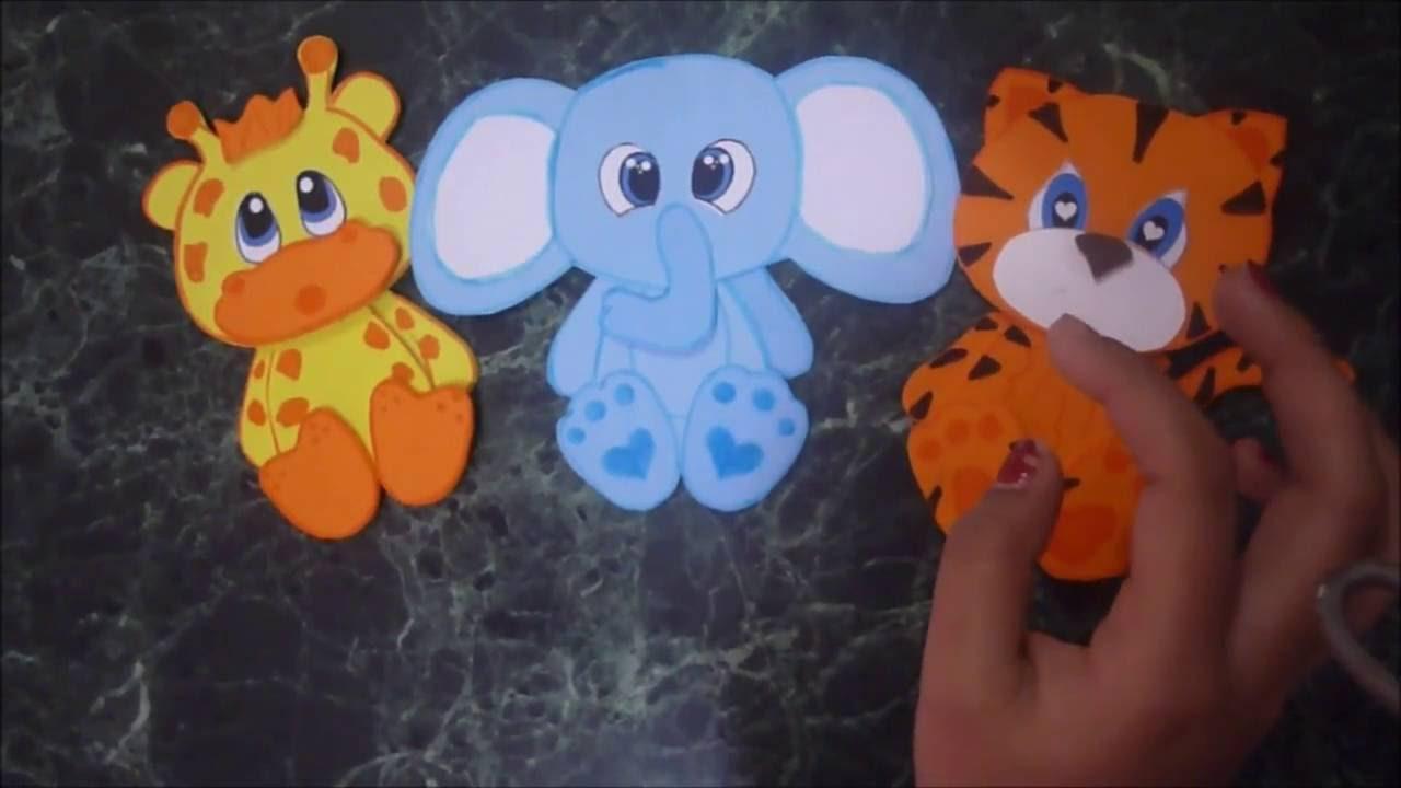 animales de la selva elefante goma eva
