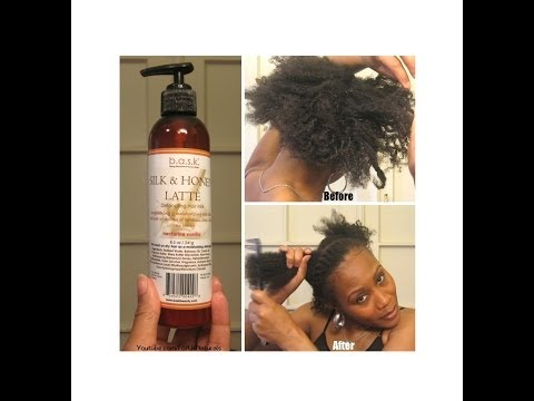 My Routine for Matted / Tangled Hair- B.A.S.K. Silk Honey Latte