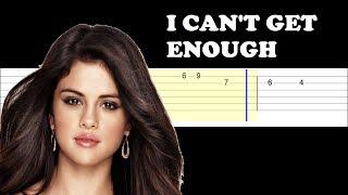Baixar Benny Blanco, Tainy, Selena Gomez, J Balvin - I Can't Get Enough (Easy Guitar Tabs Tutorial)