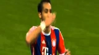Бавария 1:0 Барселона - первый гол (Мехди Бенатия)