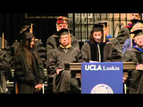 2012 UCLA Luskin School of Public Affairs Commencement