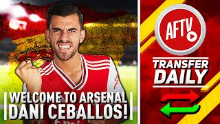 Welcome To Arsenal Dani Ceballos!