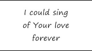 I Could Sing of Your Love Forever Sonic FLOOd 16x9 lyrics