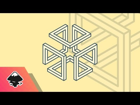 Inkscape Tutorial: Abstract Cube Logo