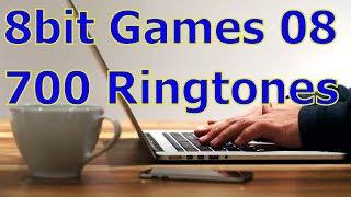 8bit Games 08 - For iOS Devices - iPhone, iPad - 700 Ringtones