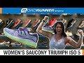 Women's Saucony Triumph ISO 5 | Fit Expert Shoe Review