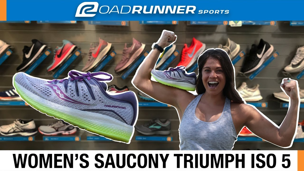 Saucony Triumph ISO 5 Running Shoe Overview YouTube
