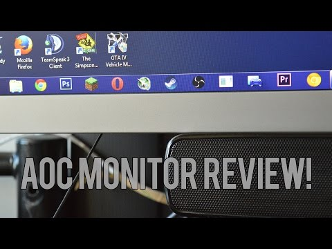 AOC i2769Vm IPS Monitor Review