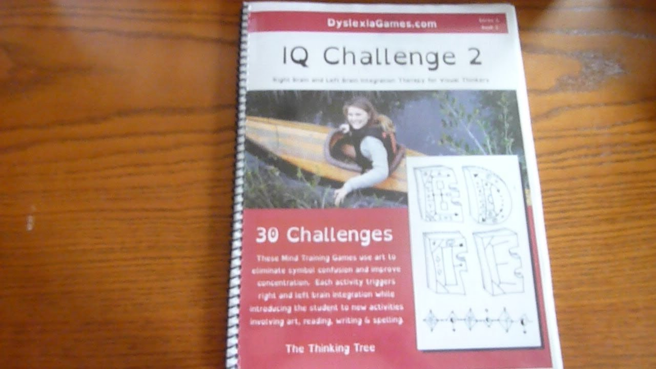 Dyslexia Games IQ Challenge Series B Book 2