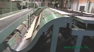 Linck Profiling Line, Фрезерно брусующая профилирующая линия
