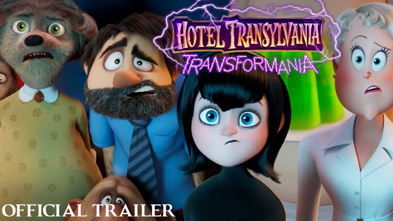 Download HOTEL TRANSYLVANIA: TRANSFORMANIA - Official Trailer 2 (HD)