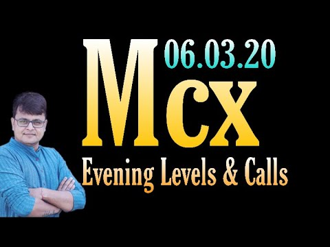 MCX EVENING UPDATES-CRUDE-OIL,NATURAL-GAS,GOLD,SILVER & COPPER- 6 March 2020 (In Hindi)