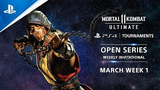 Mortal Kombat 11 : Weekly Invitational NA : PS4 Tournaments Open Series