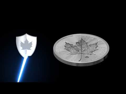 THE SILVER MAPLE LEAF - THE WORLD'S MOST SECURE SILVER BULLION COIN
