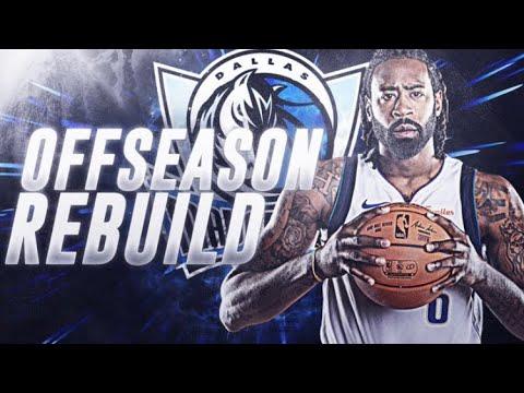 TRADING A 90+ OVERALL?! DALLAS MAVS OFFSEASON REBUILD! NBA 2K19