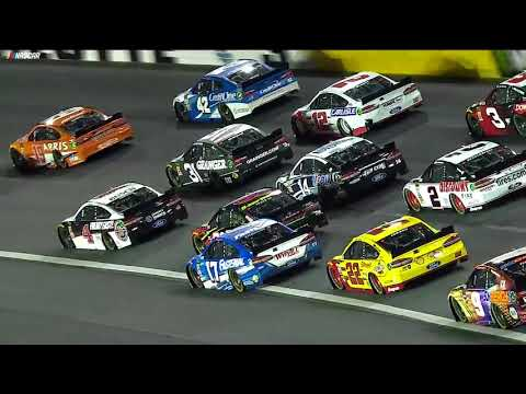 Eight cars caught up in big wreck during All-Star Race