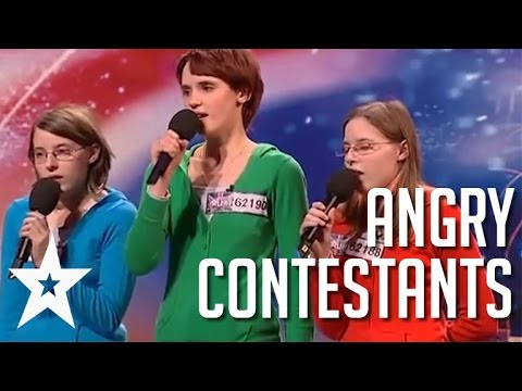 Thumbnail: Acts With Attitude: 5 Angriest Contestants on Got Talent